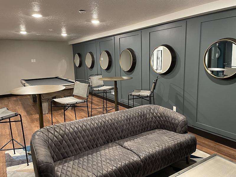 Clubhouse Interior | Downtown West Apartments
