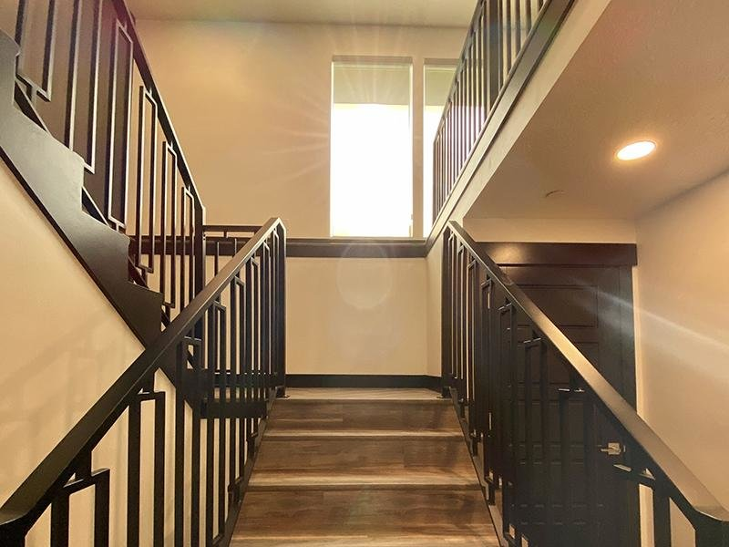 Stairwell | Downtown West Apartments in Salt Lake City, UT