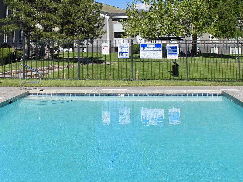 Pool | Downtown West Apartments in Salt Lake City, UT