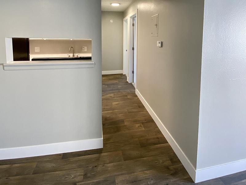 Kitchen Partition | Downtown West Apartments in Salt Lake City, UT