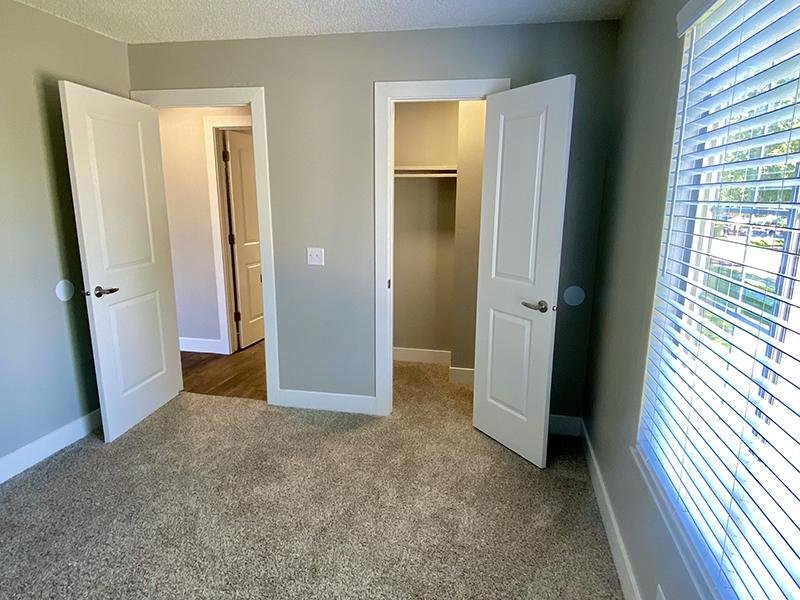 Bedroom Closet | Downtown West Apartments in Salt Lake City, UT