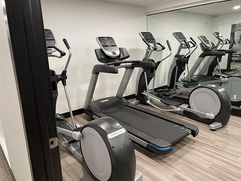 Fitness Center | Downtown West Apartments