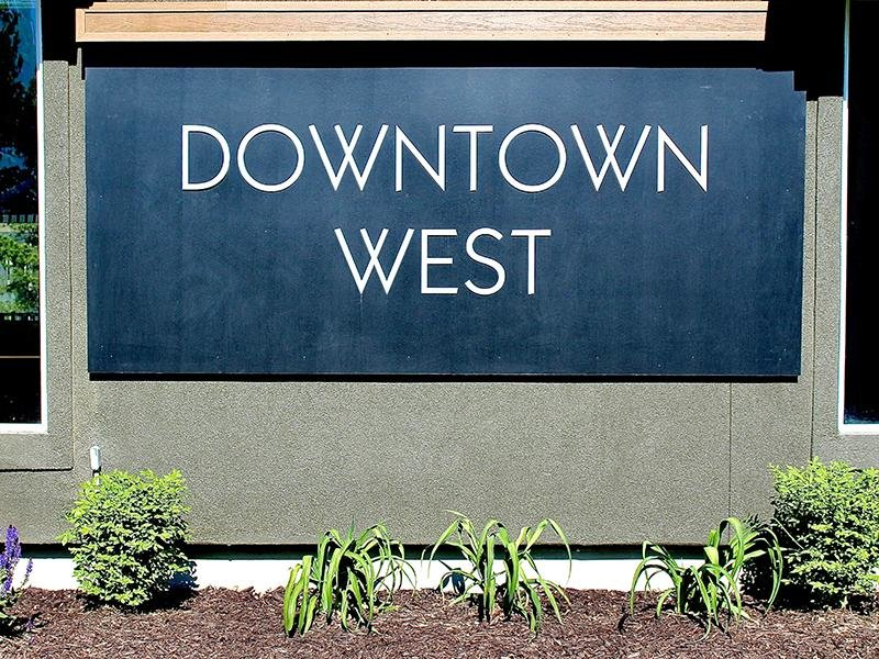 Office Sign | Downtown West Apartments in Salt Lake City, UT