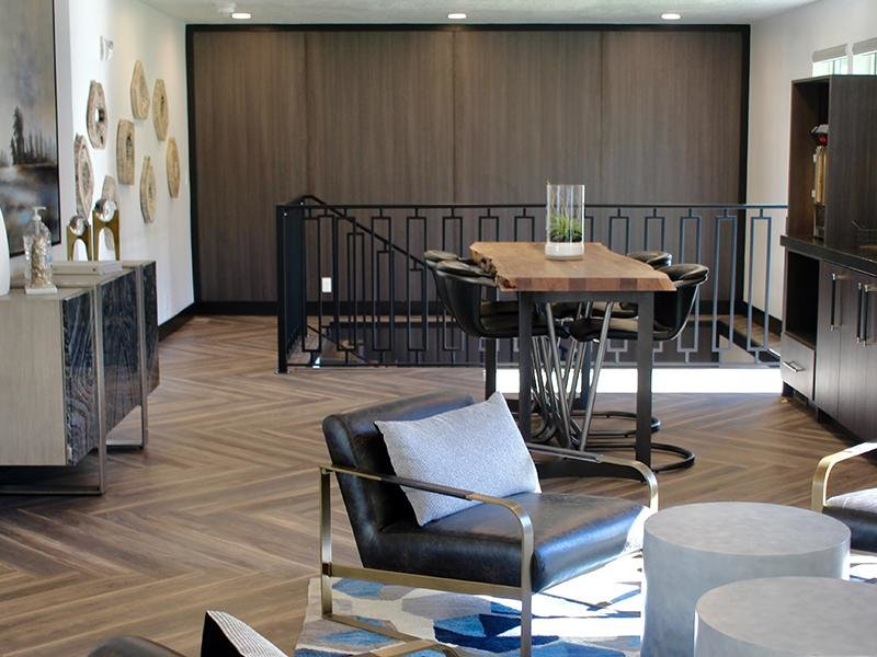 Clubhouse Seating | Downtown West Apartments in Salt Lake City, UT
