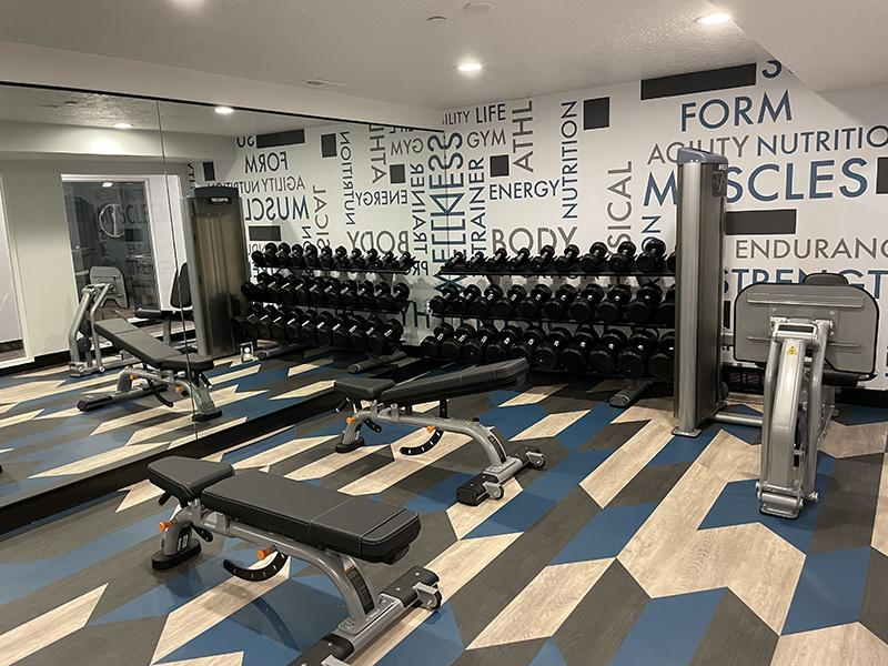 Gym | Downtown West Apartments