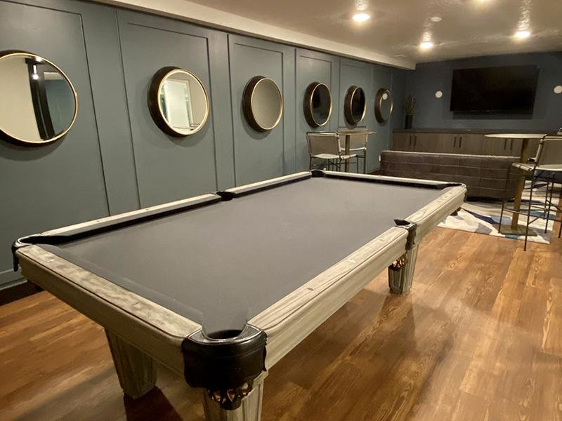 Pool Table | Downtown West Apartments in Salt Lake City, UT