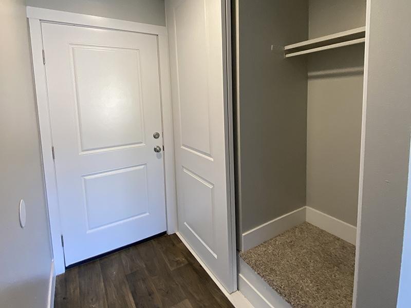 Closet | Downtown West Apartments in Salt Lake City, UT