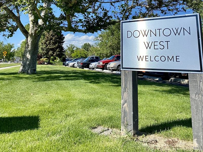 Welcome Sign | Downtown West Apartments in Salt Lake City, UT