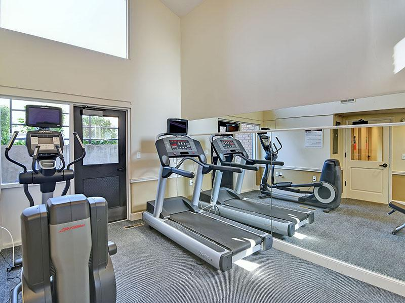 Fitness Center | Fox Creek Apartments