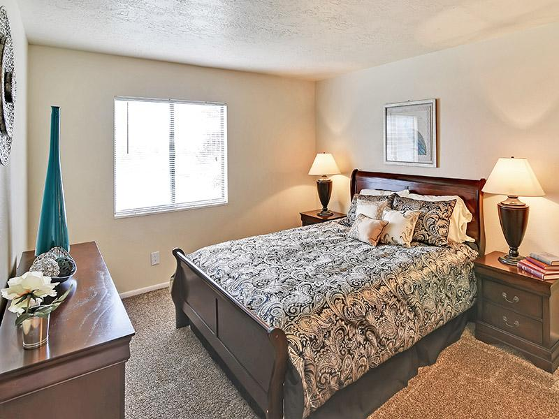Bedroom | 1, 2 Bedroom Apartments |  Layton, UT