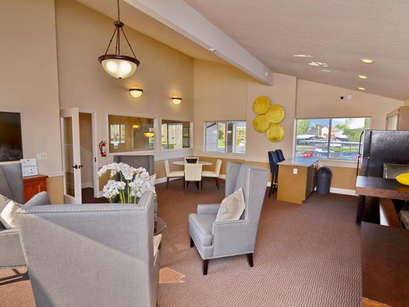 Clubhouse Interior | Fox Creek