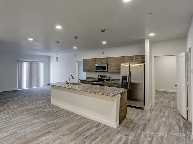 Living Room & Kitchen | Clearfield Junction