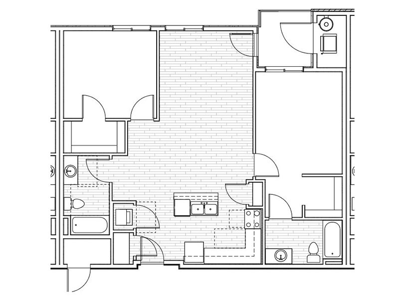 Floor Plans at Mill Point Apartments