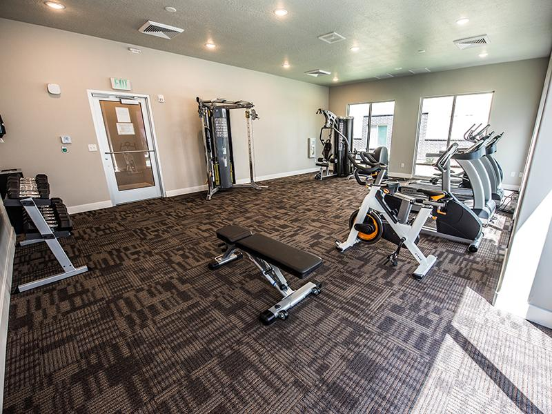Gym | Mill Point Apartments