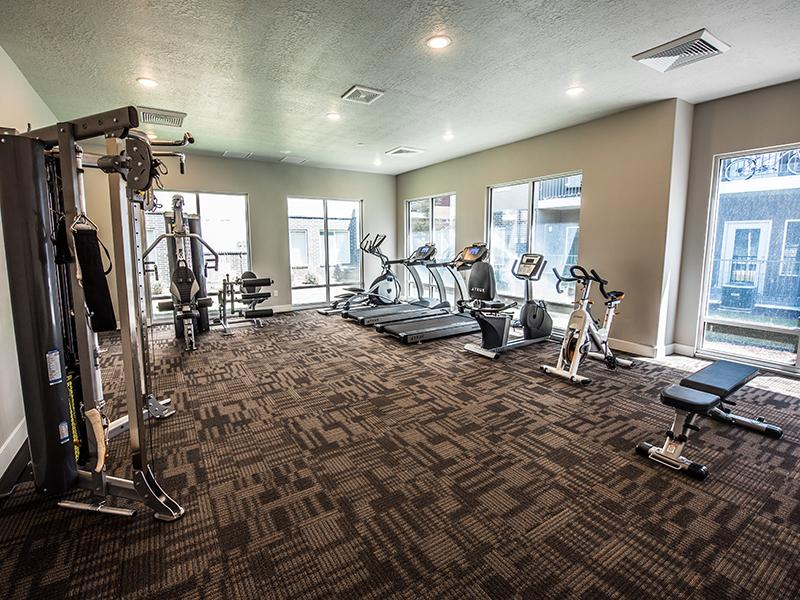 Fitness Center | Mill Point Apartments in Utah