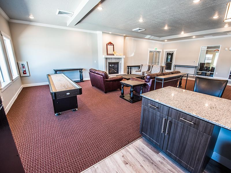 Clubhouse | Mill Point Apartments
