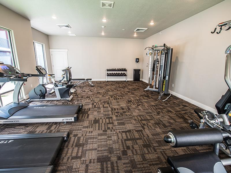Fitness Center | Mill Point Apartments