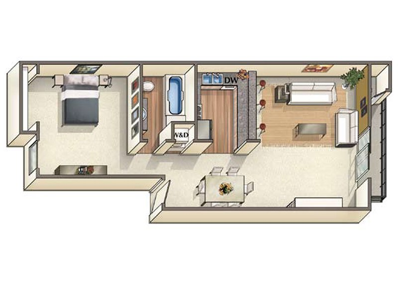 Floor Plans at Vineyard Gardens Apartments