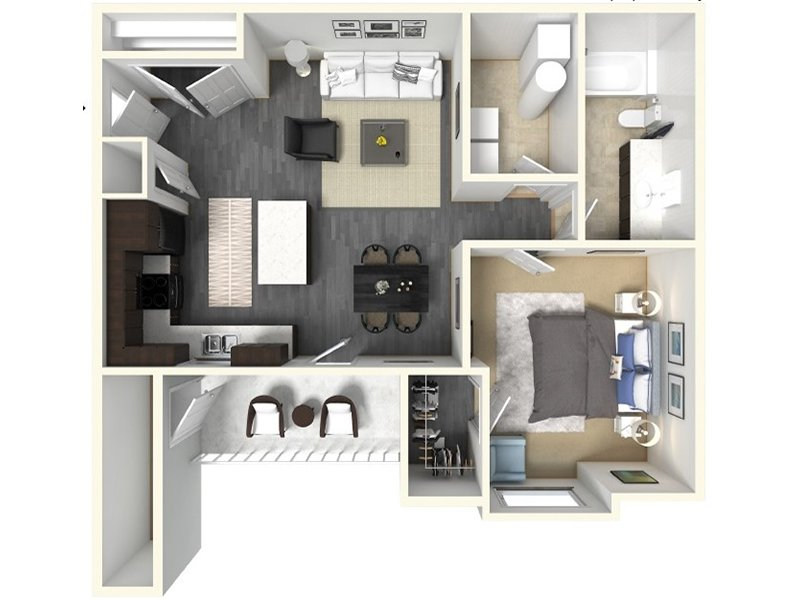 Floor Plans at Claradon Village Apartments