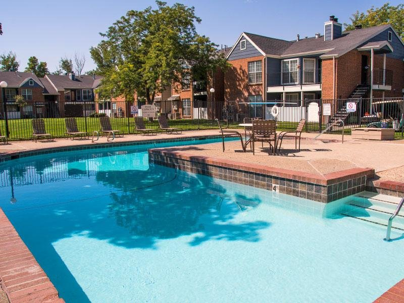 Village at Raintree APTs | Pool Overview | SLC, UT