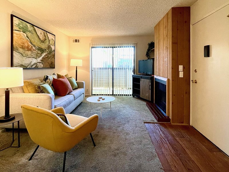Front Room | Chaparral Apartments in Palmdale, CA