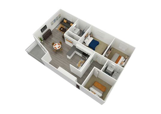 Floorplan for Argyle Apartments