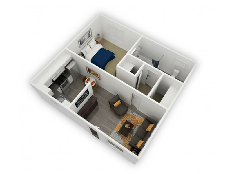 Floor Plans at Argyle Apartments