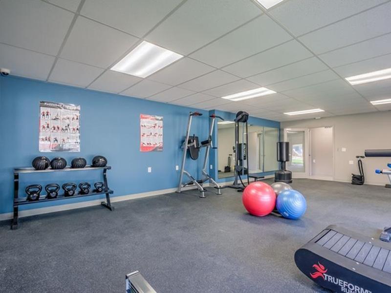 Gym | The Argyle Apartments