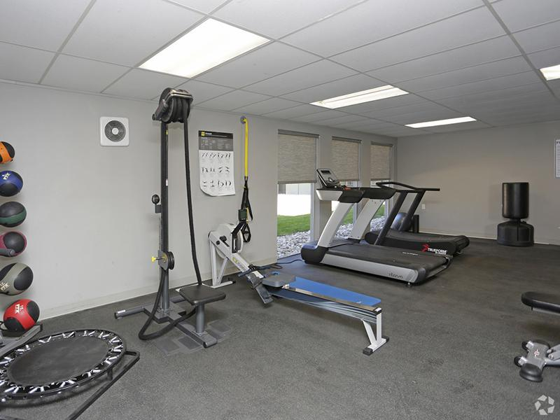 Fitness Center | The Argyle Apartments