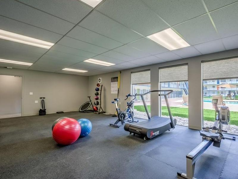 Gym | The Argyle Apartments