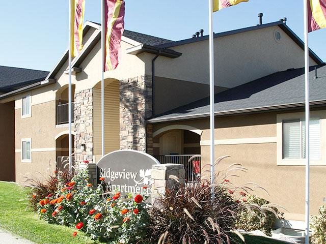 Exterior | Ridgeview Apartments in North Salt Lake
