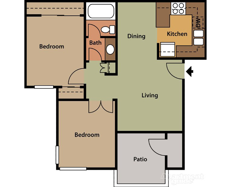 Floor Plans at The Springs CA Apartments