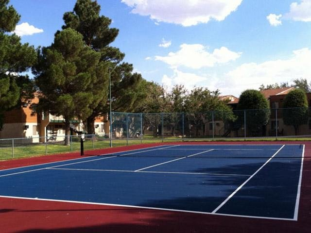 Tennis Court | Rain Village Apartments