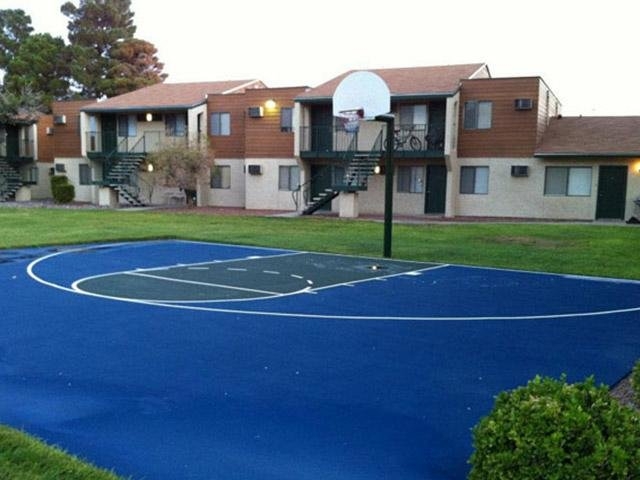 Basket Court | Rain Village Apartments