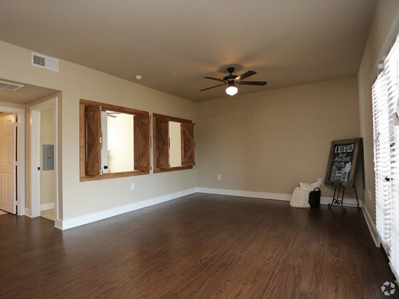 Front Room | Woodlands of Denton Apartments