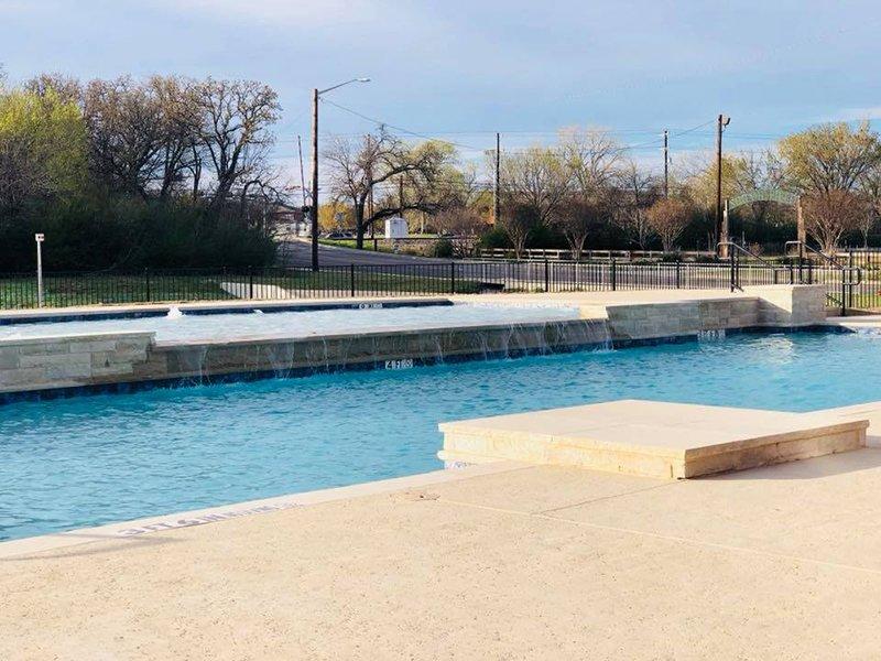 Pool | Woodlands of Denton Apartments