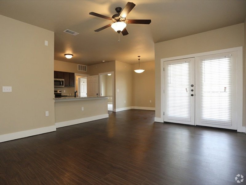 Living Room | Woodlands of Denton Apartments