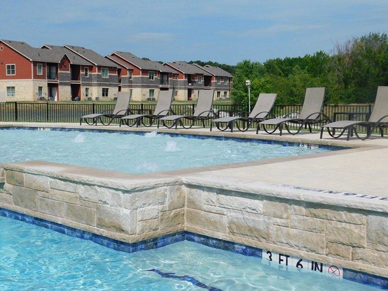 Swimming Pool | Woodlands of Denton Apartments
