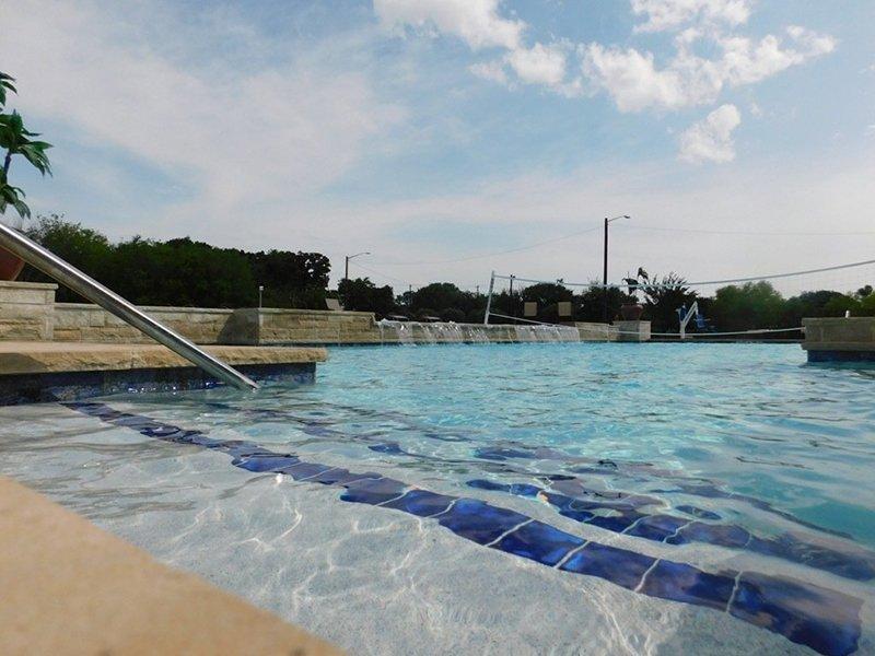 Shimmering Pool | Woodlands of Denton Apartments