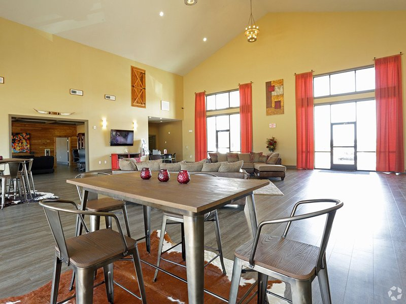 Clubhouse | Woodlands of Denton Apartments
