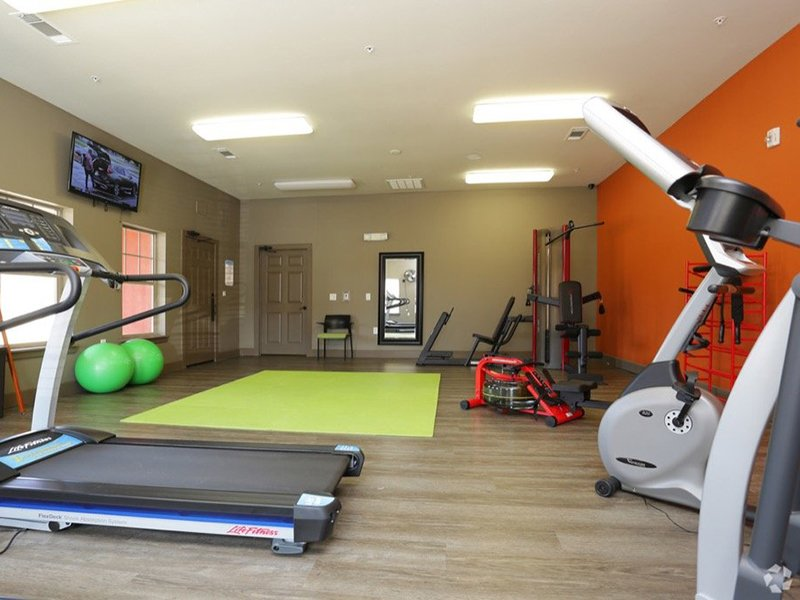 Fitness Center | Woodlands of Denton Apartments