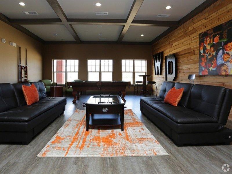 Gaming Room | Woodlands of Denton Apartments