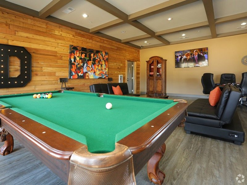 Gaming Area | Woodlands of Denton Apartments