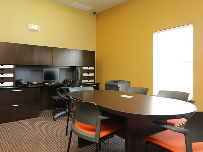Business Center | Woodlands of Denton Apartments