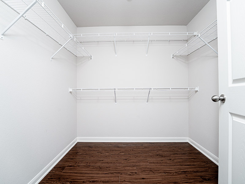 Large Closets | Cascadia Apartments