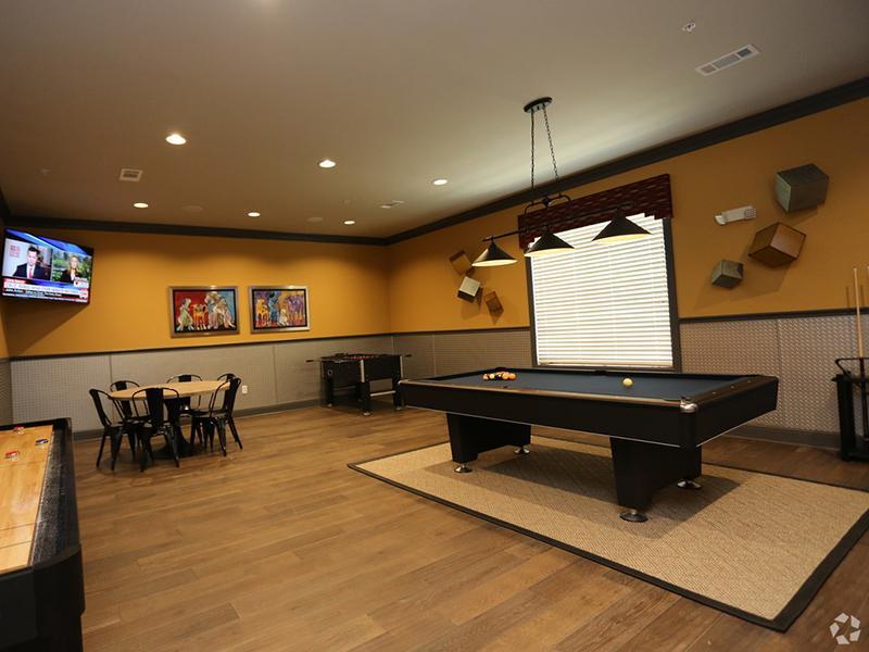Billiards Table | Pool | Cascadia Apartments