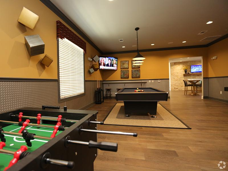 Game Room  | Cascadia Apartments