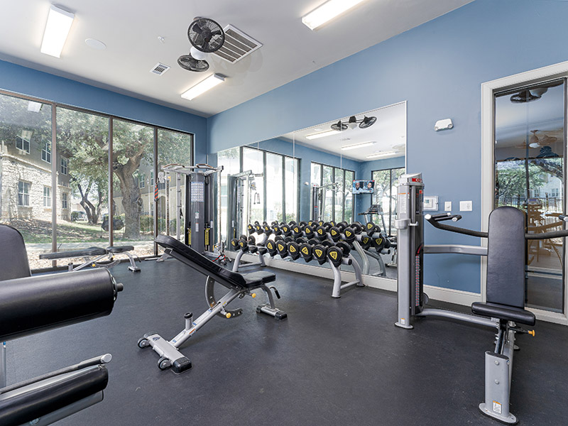 Fitness Center | Cascadia Apartments in San Antonio, TX