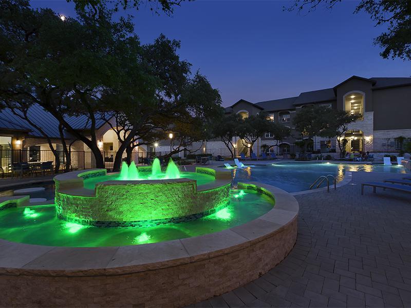 Fountains | Cascadia Apartments