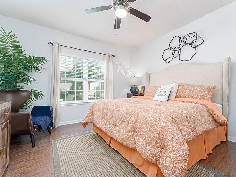 Bedroom | Cascadia Apartments in San Antonio, TX